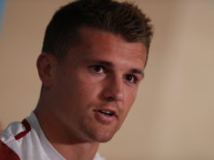 Henry Slade is part of Exeter's team as the defending champions host Bristol (David Davies/PA).
