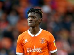 Armand Gnanduillet got two of Hearts' four goals (PA)