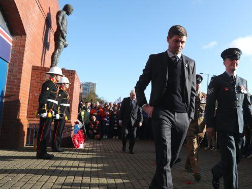 Steven Gerrard lost a family member at the Hillsborough disaster (Andrew Milligan/PA)