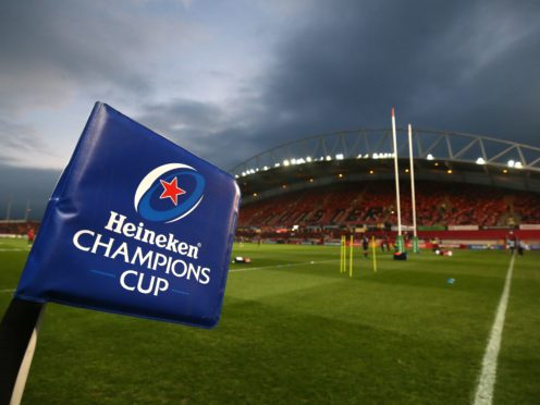 The Champions Cup and Challenge Cup group stage has been abandoned (Niall Carson/PA)