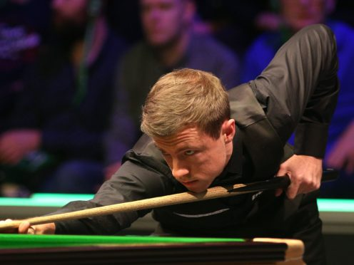 Jack Lisowski is targeting a major breakthrough at the Masters (Nigel French/PA)