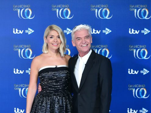 Dancing On Ice hosts Holly Willoughby and Phillip Schofield (Ian West/PA)