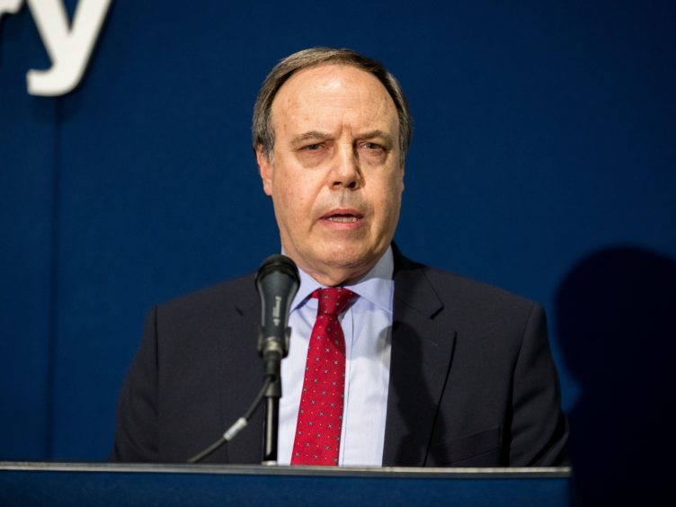 DUP deputy leader Nigel Dodds has claimed the EU let its mask slip by its actions on Friday (Liam McBurney/PA)