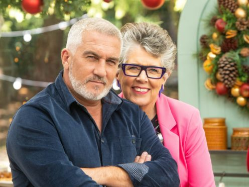 Paul Hollywood and Prue Leith (C4/Love Productions/Mark Bourdillon)