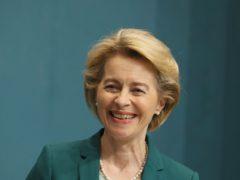 European Commission President Ursula von der Leyen held talks with Boris Johnson and Micheal Martin (Brian Lawless/PA)