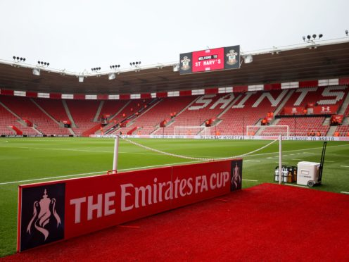 Southampton will now host Shrewsbury in the FA Cup on Tuesday (Steven Paston/PA)