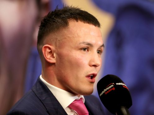 Josh Warrington's hopes of a world title unification fight have been dashed (Bradley Collyer/PA)