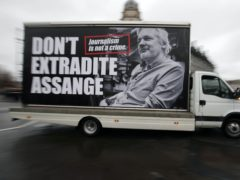 Supporters of Julian Assange were overjoyed at the decision not to extradite him to the US but expressed dismay that the ruling was made on health grounds (Jonathan Brady/PA)