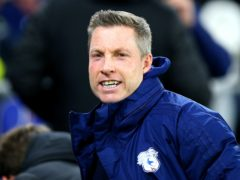 Cardiff manager Neil Harris has received a one-match touchline ban (Nigel French/PA)