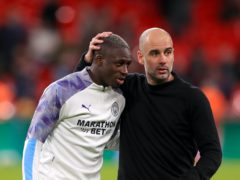 "Pep Guardiola feels Benjamin Mendy will learn from his ""big mistake"" (Mike Egerton/PA)"