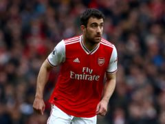 Sokratis Papastathopoulos has left Arsenal by mutual consent (Bradley Collyer/PA)