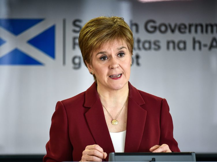 The First Minister announced the changes at the coronavirus briefing on Friday (Jeff J Mitchell/PA)