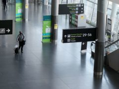 The Government said all passengers arriving into Ireland will have to provide a negative Covid-19 test taken prior to departure from Saturday (Brian Lawless/PA)