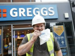 Greggs is still looking to open more outlets (Danny Lawson/PA)
