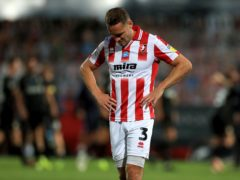 Cheltenham defender Chris Hussey could be fit again after a foot injury (Mike Egerton/PA)
