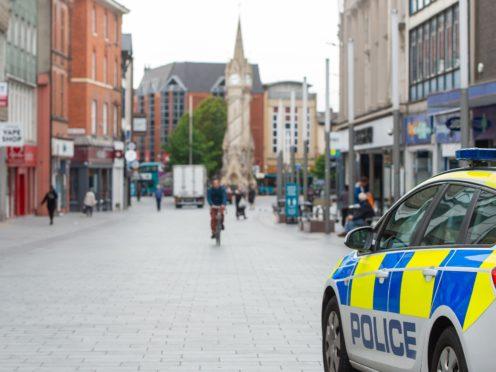 Priti Patel defended police enforcement of lockdown rules (Joe Giddens/PA)