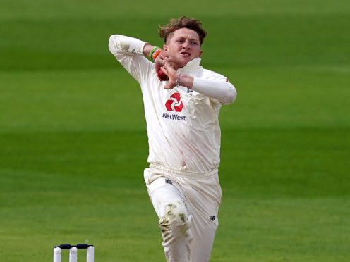Dom Bess is looking forward to testing himself in Sri Lankan conditions (Jon Super/NMC Pool/PA)