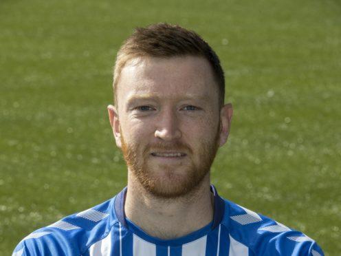 Kilmarnock striker Danny Whitehall (Jeff Holmes/PA)