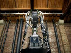 England will be looking to retain the Six Nations Trophy (Steven Paston/PA)