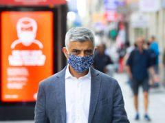 Mayor of London Sadiq Khan (PA)