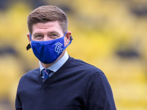 Rangers manager Steven Gerrard wants Scottish football to play to a finish (Willie Vass/PA)