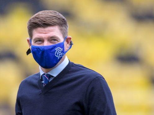 Rangers manager Steven Gerrard does not believe a circuit-breaker is required (Willie Vass/PA)