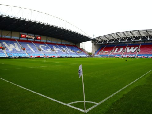 Wigan are continuing takeover talks (Tim Goode/PA)