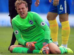 Brighton goalkeeper Christian Walton suffered injury in pre-season (Adam Davy/PA)