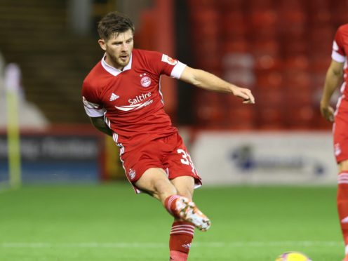 Aberdeen's Matty Kennedy hopes to add to his collection of Northern Ireland caps (Jeff Holmes/PA)