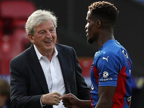 Roy Hodgson is hoping to keep hold of Wilfried Zaha (Alastair Grant/PA)