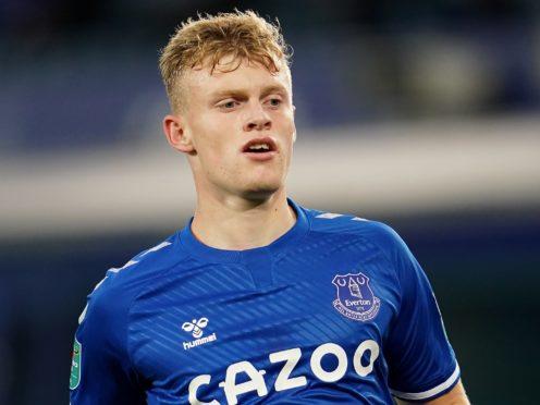 Jarrad Branthwaite has joined Blackburn on loan (Jon Super/PA).