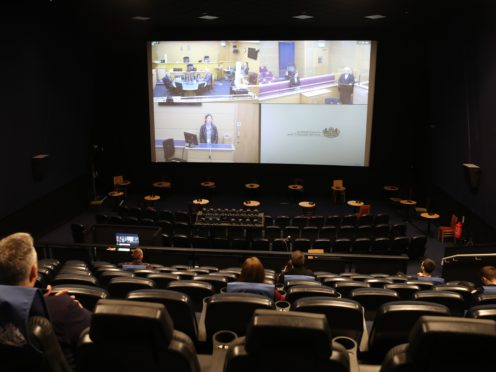 Cinemas have been hosting remote juries since September (Andrew Milligan/PA)