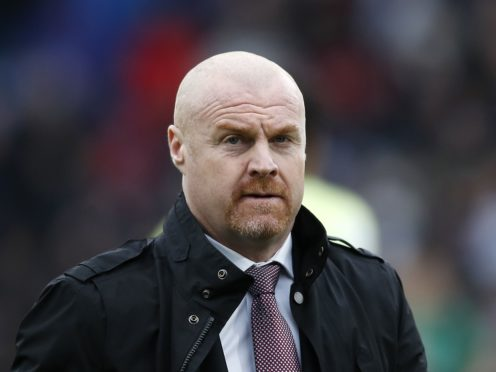 Burnley manager Sean Dyche could welcome back a number of players to face Manchester United (Martin Rickett/PA)
