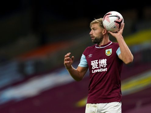 Charlie Taylor will be missing for Burnley (Jon Super/PA)