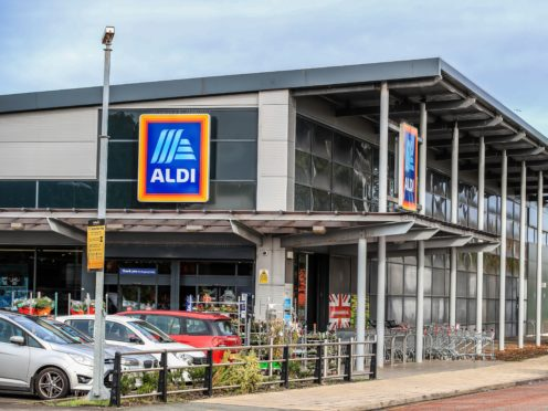 Discount supermarket chain Aldi has given its 30,000 store staff a pay rise and revealed plans to recruit another 4,000 shop workers over the year ahead (Peter Byrne/PA)
