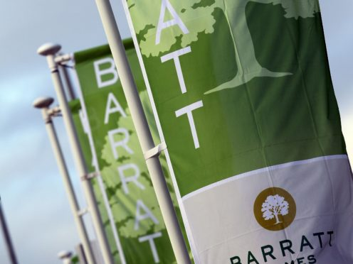 Barratt started buying land again in August (PA)