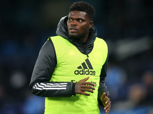 Thomas Partey has struggled for fitness since he moved to Arsenal from Atletico Madrid in October (Alex Livesey/PA)