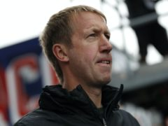Graham Potter has gone for a new look (Adrian Dennis/PA)
