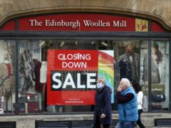 Edinburgh Woollen Mill is saved in a deal that will see it controlled by former owner Philip Day. (Steve Parsons / PA)