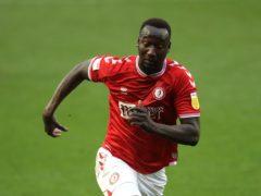 Famara Diedhiou scored both goals for Bristol City in the defeat of Huddersfield (Adam Davy/PA)