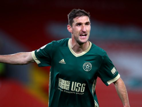 Chris Basham is in line to make his 300th appearance for Sheffield United on Saturday (Michael Steele/PA)
