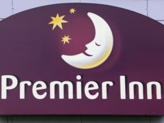 Premier Inn owner Whitbread said sales across its hotels and restaurants have more than halved as coronavirus restrictions forced swathes of its estate to close (Lewis Whyld/PA)