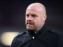 Sean Dyche is expecting a tough transfer window (Michael Regan/PA)