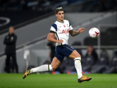 Erik Lamela was pictured breaking coronavirus rules over the festive period (Mike Hewitt/PA)