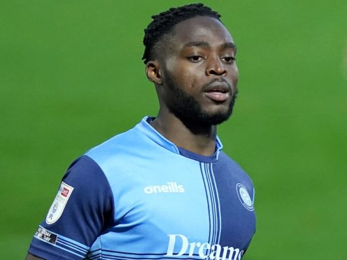 Fred Onyedinma scored for Wycombe (Tess Derry/PA)