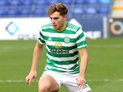 Celtic's James Forrest is working up his fitness after ankle surgery (PA)
