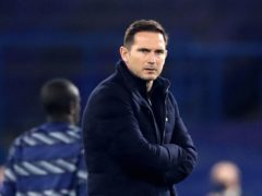 Frank Lampard, pictured, has revealed Chelsea could practise the art of not celebrating goals during training (Peter Cziborra/PA)