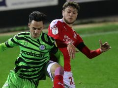Jordan Stevens, right, made 16 appearances for Swindon (David Davies/PA)