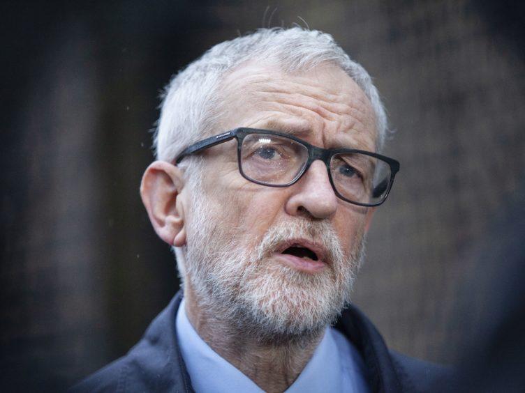 Former Labour leader Jeremy Corbyn (Hollie Adams/PA)