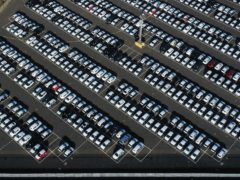 New cars in a compound near Sheerness in Kent, negotiations between the UK and European Union on a post-Brexit trade deal have resumed, but �fundamental� differences remain between the two sides.